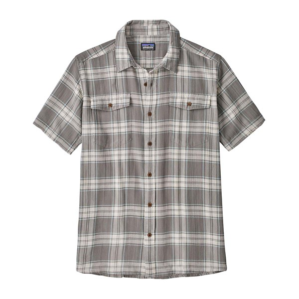 Ascent Plaid: Feather Grey