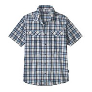 Men's Patagonia High Moss Short Sleeve Shirt