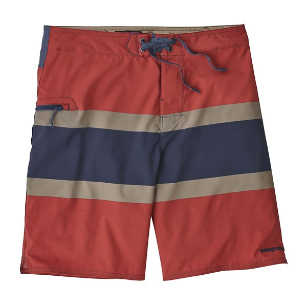 Rugby Stripe: Static Red