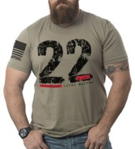 Men's Nine Line Apparel 22 A Day T-Shirt