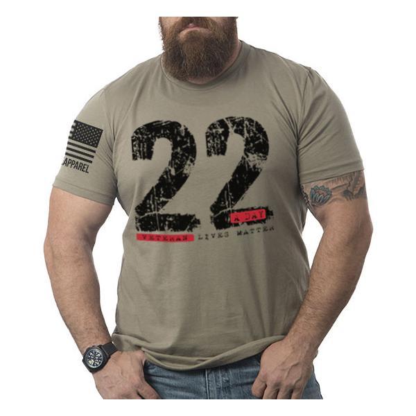 Men's Nine Line Apparel 22 A Day T-Shirt