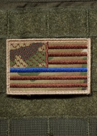 Nine Line Apparel Thin Blue Line Patch