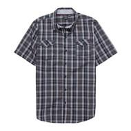 Men's Burnside Checkmate Button Down T-Shirt