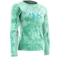 Womens Huk Kryptek Icon Long Sleeve