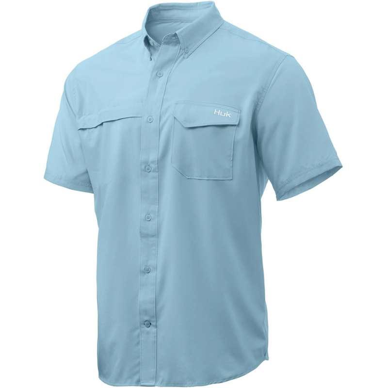 Men's HUK Tide Point Short Sleeve Shirt