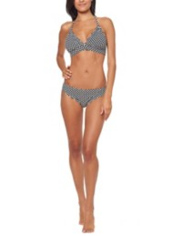 Women's Jessica Simpson Under The Sea Dot Hipster Bikini Bottom