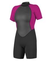 Women's O'Neill Reactor-2 2mm Back Zip Short Sleeve Spring Wetsuit