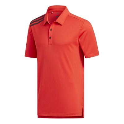 Men's adidas Essentials 3 Color Stripe Golf Polo