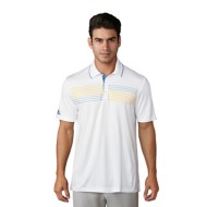 Men's adidas Ultimate Chest Print Golf Polo
