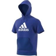 Men's adidas Sport ID Short Sleeve Hoodie