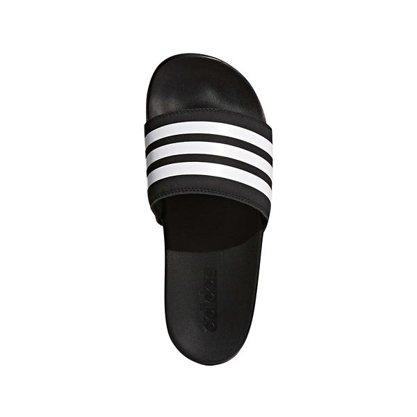 5ac4d3240008 Women adidas Adilette Cloudfoam Plus Stripes Slides SWIM