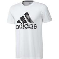 Men's adidas Badge of Sport American Short Sleeve Shirt