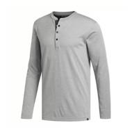 Men's adidas Adicross Henley No-Show Range Long Sleeve Shirt