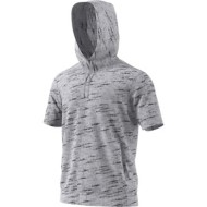 Men's adidas Pickup Shooter Short Sleeve Hoodie