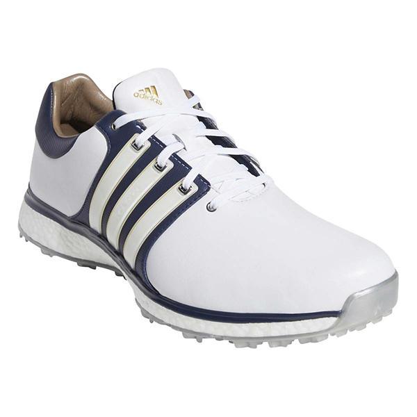 new styles d28d1 5d1d4 ... Mens adidas Tour360 XT-SL Golf Shoes Tap to Zoom Cloud  WhiteCollegiate Navy Gold Metallic