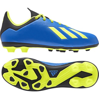 Preschool Boys' adidas X 18.4 Flexible Ground Soccer Cleats