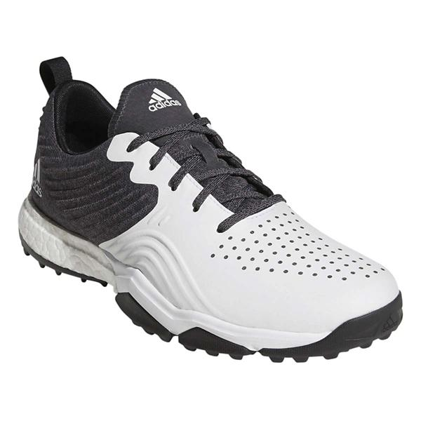 info for 21d2b 4d7db ... Mens adidas Adipower 4orged S Golf Shoes Tap to Zoom Core BlackCloud  White Silver Metallic
