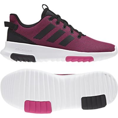 Preschool Girls' adidas Cloudfoam Racer TR Running Shoes