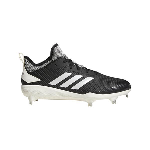 158db51596d ... Men s adidas adizero Afterburner V Metal Baseball Cleats Tap to Zoom   Black White Grey