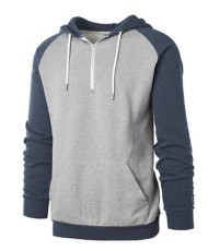 Men's Colosseum Raglan 1/4 Zip Sweatshirt