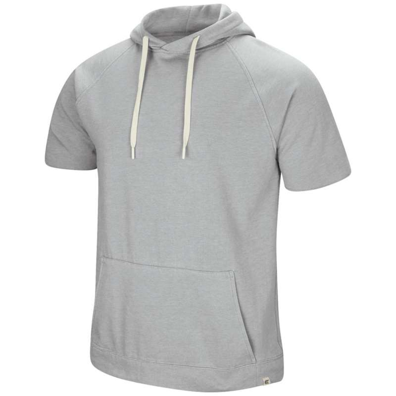 Men's Colosseum Raglan Short Sleeve Fleece Pullover Hoodie