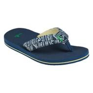 Gradeschool Boys Sanuk Rootbeer Cozy LT Funk Sandals