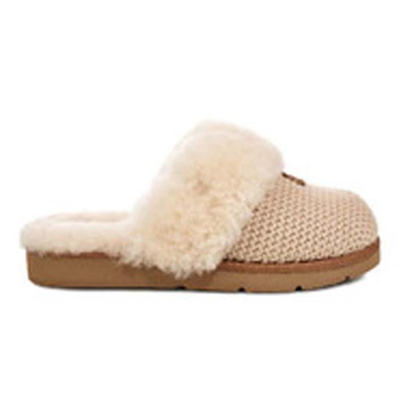 Womens Ugg Cozy Knit Slippers