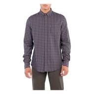 Men's Ben Sherman Grindle Gingham Long Sleeve Shirt
