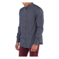Men's Ben Sherman Sketch Micro Print Long Sleeve Shirt
