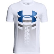 Youth Boys' Under Armour Veritcal Logo T-Shirt