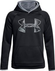 Youth Boys' Under Armour Armour Fleece Big Logo Hoodie