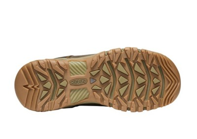 Men's KEEN Targhee Mid Waterproof Leather Boots