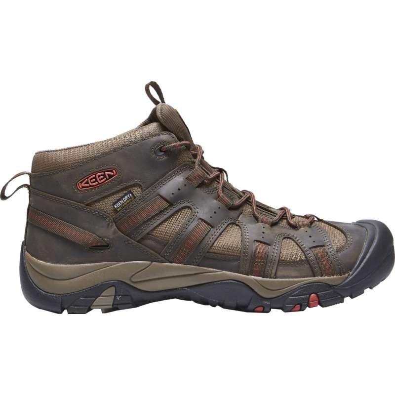 Men's KEEN Siskiyou Mid Waterproof Hiking Boots