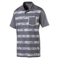 Men's Puma Camo Stripe Golf Polo