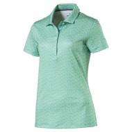 Women's Puma Polka Dot Golf Polo