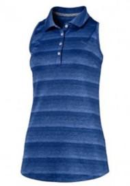 Women's Puma Sleeveless Racerback Golf Polo