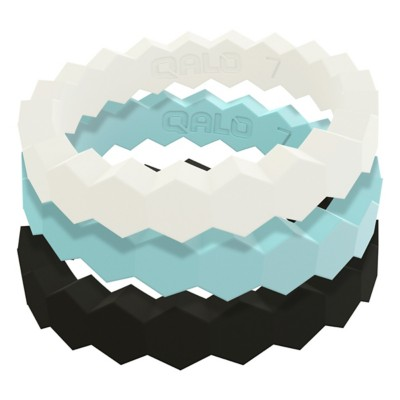 Women's Qalo Stackable Collection C Silicone Rings