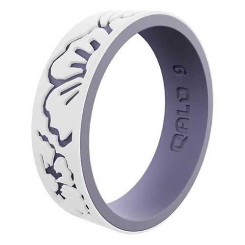Women's Stata Hibiscus Silicone Ring