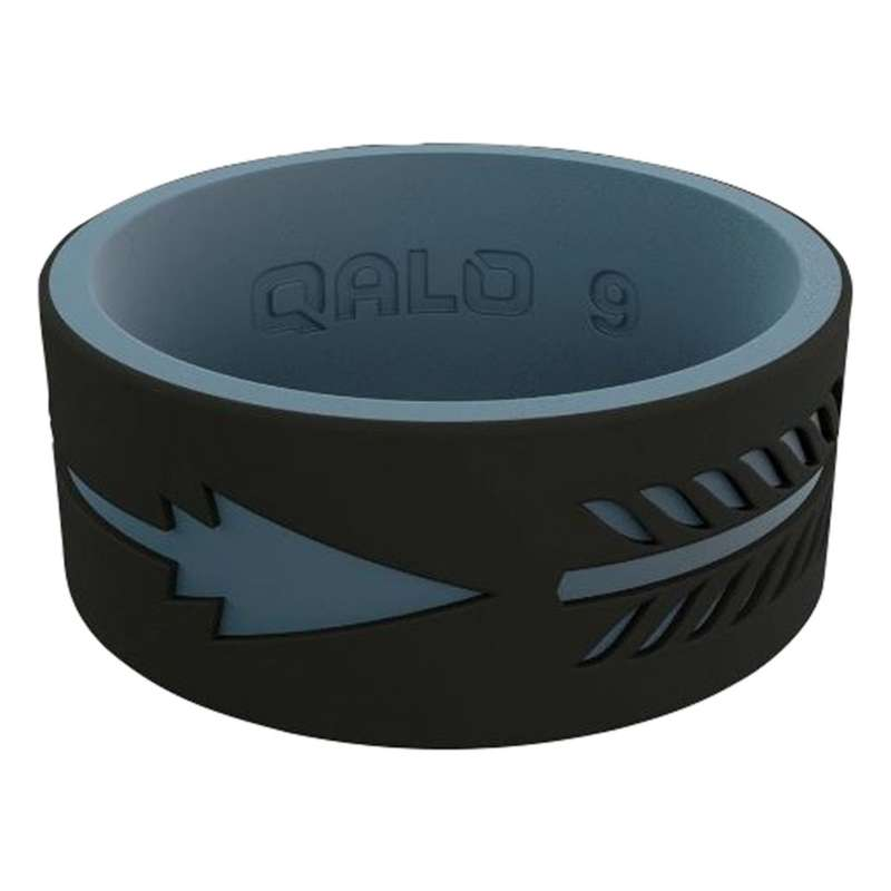 Men's Qalo Strata Arrow Silicone Ring