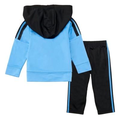Infant Boys' adidas Three Stripe Jacket Set