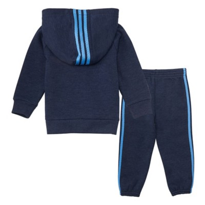 Infant Boys' adidas Poly Fleece Jacket Set