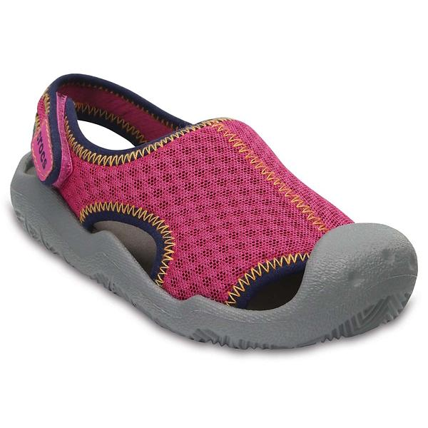 ae9d4762917 Girls  Crocs Swiftwater Sandal