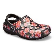 Womens Classic Graphic Lined Clogs
