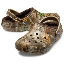 Crocs Classic Lined Realtree Edge Clogs