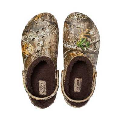 Crocs Classic Lined Realtree Edge Clogs