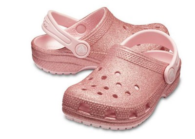 Preschool Girls' Crocs Classic Glitter Clogs