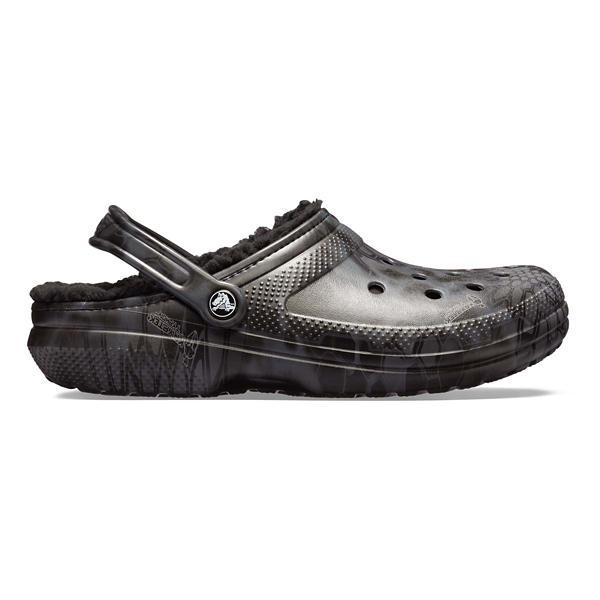 dcf97c587 ... Crocs Classic Kryptek Tyhon Lined Clogs Tap to Zoom  Black