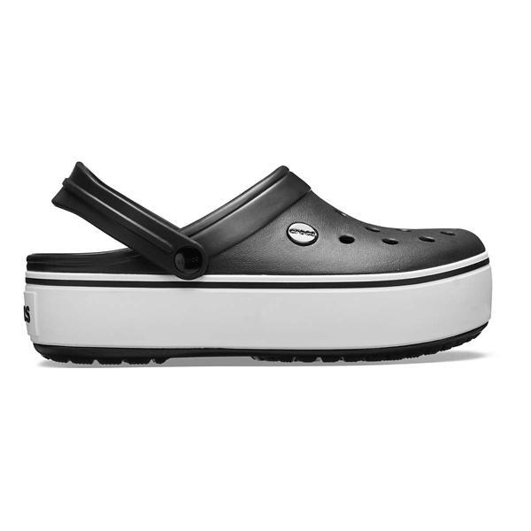 38905589717 Women s Crocs Crocband Platform Clogs