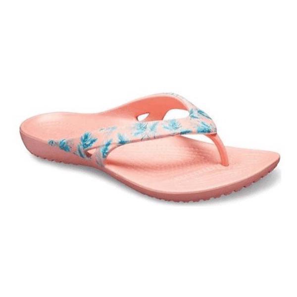 de0687446eb14 Tap to Zoom; Women's Crocs Kadee II Seasonal Graphic Flip Flop Sandals Tap  to Zoom; Women's ...