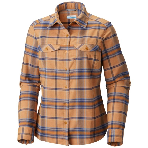 Canyon Gold Ombre Window Plaid